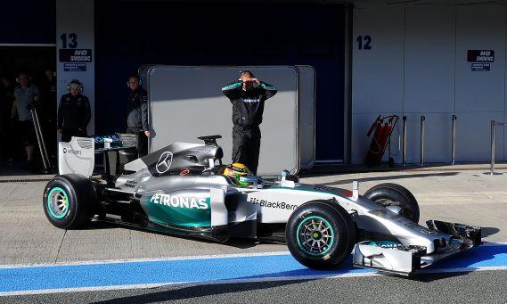 Formula One - 2014 Testing - Day One - Circuito de Jerez