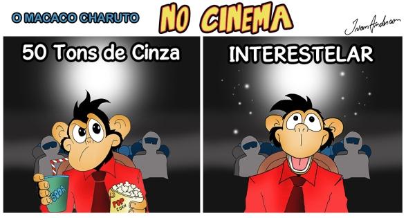 Macaco Charuto No Cinema