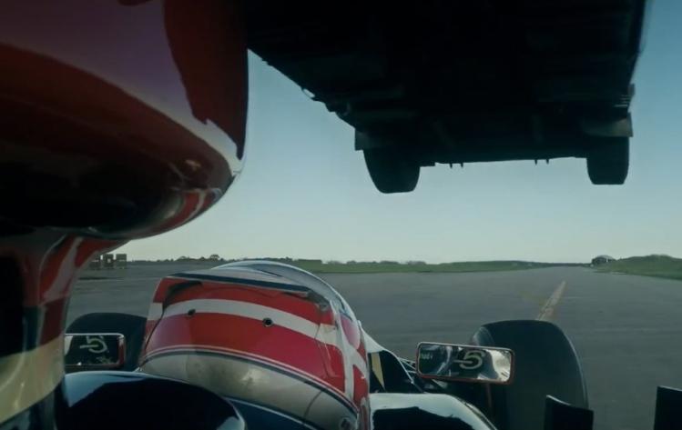Lotus-F1-car-truck-jump-1